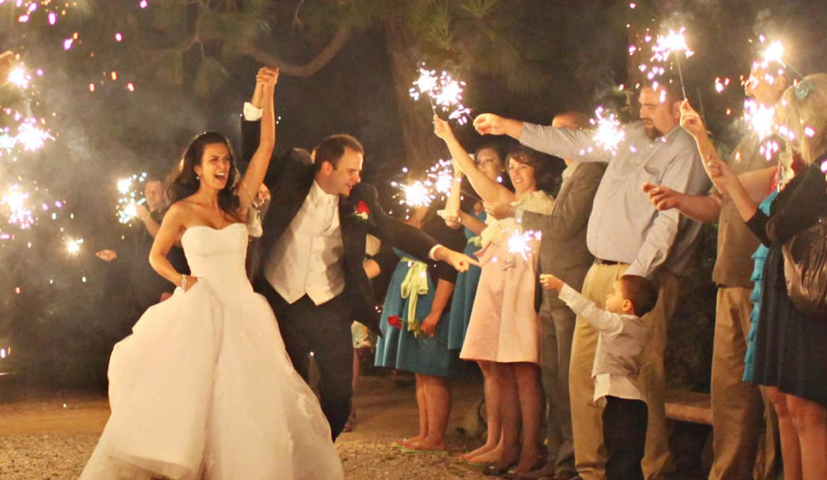 Brighten Your Special Day with Wedding Sparklers