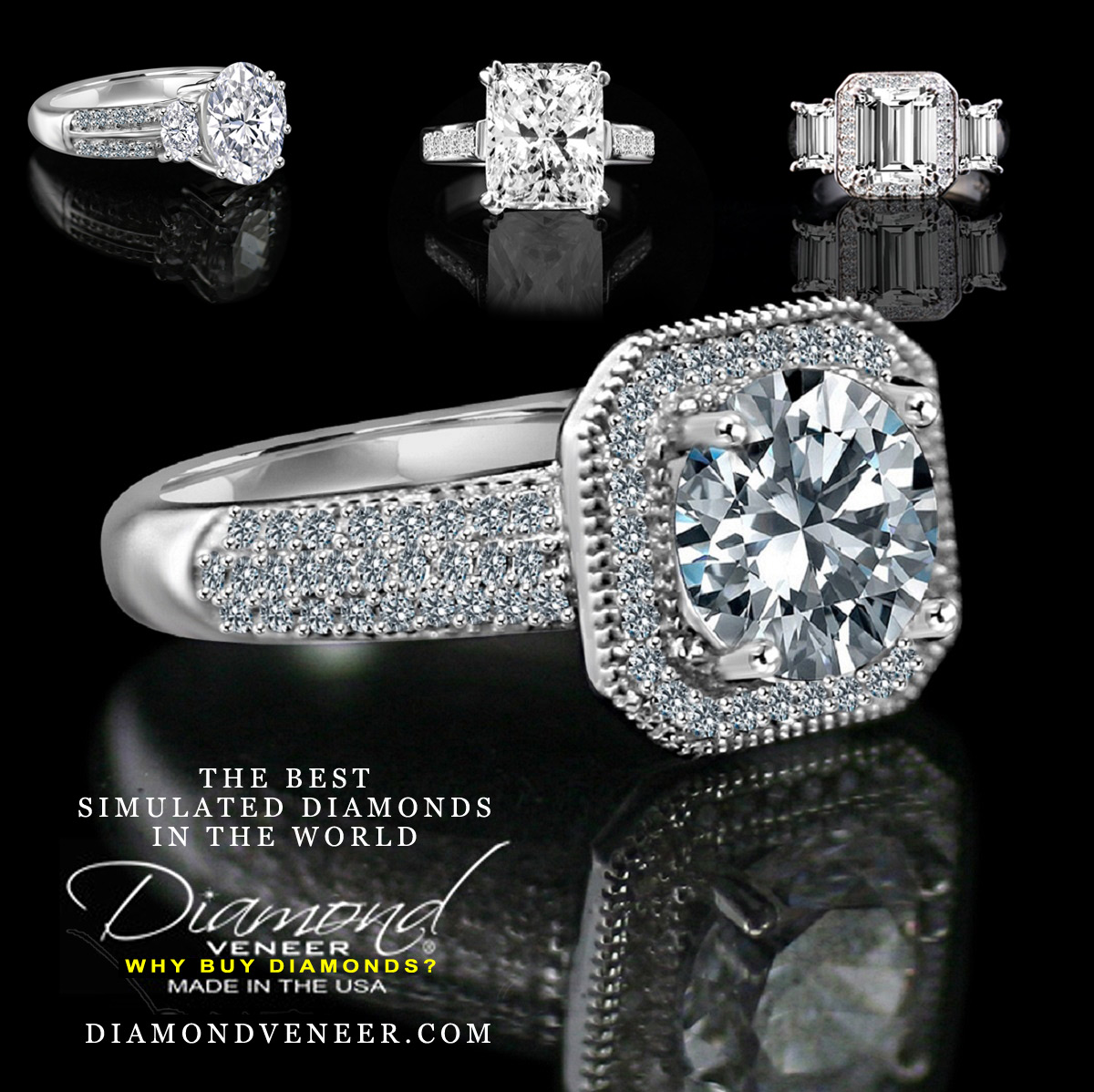 Cubic Zirconia: The Affordable Simulated Diamonds For Beautiful Jewelry
