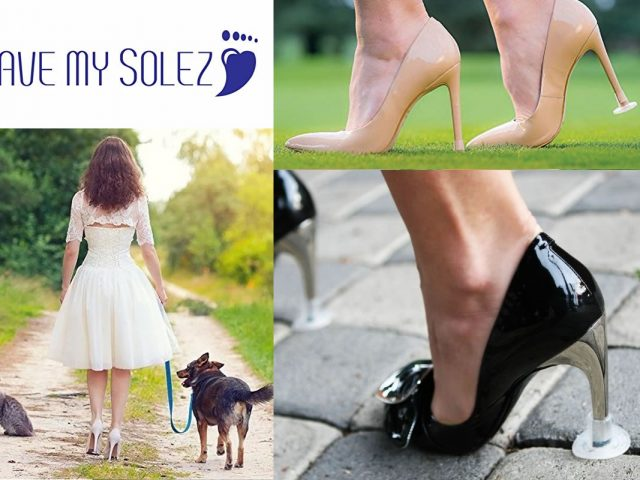 Special Offer: Get $1 Off Heel Protectors for Your Wedding