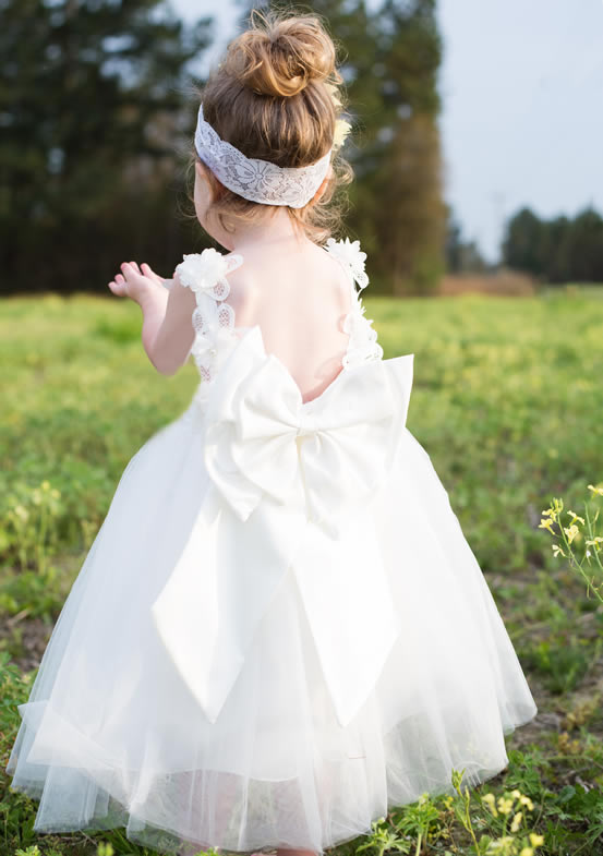 Ruffles and Bowties Dresses