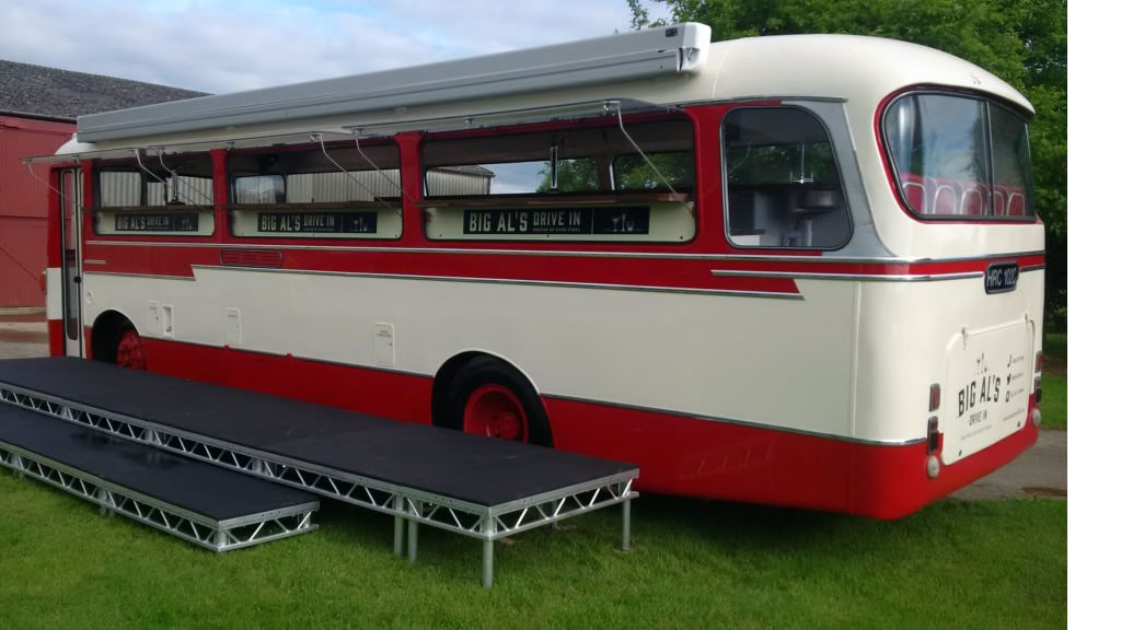 cocktail bus hire