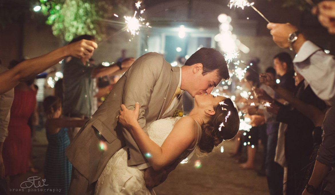 Make Your Wedding Sparkle with Wedding Sparklers
