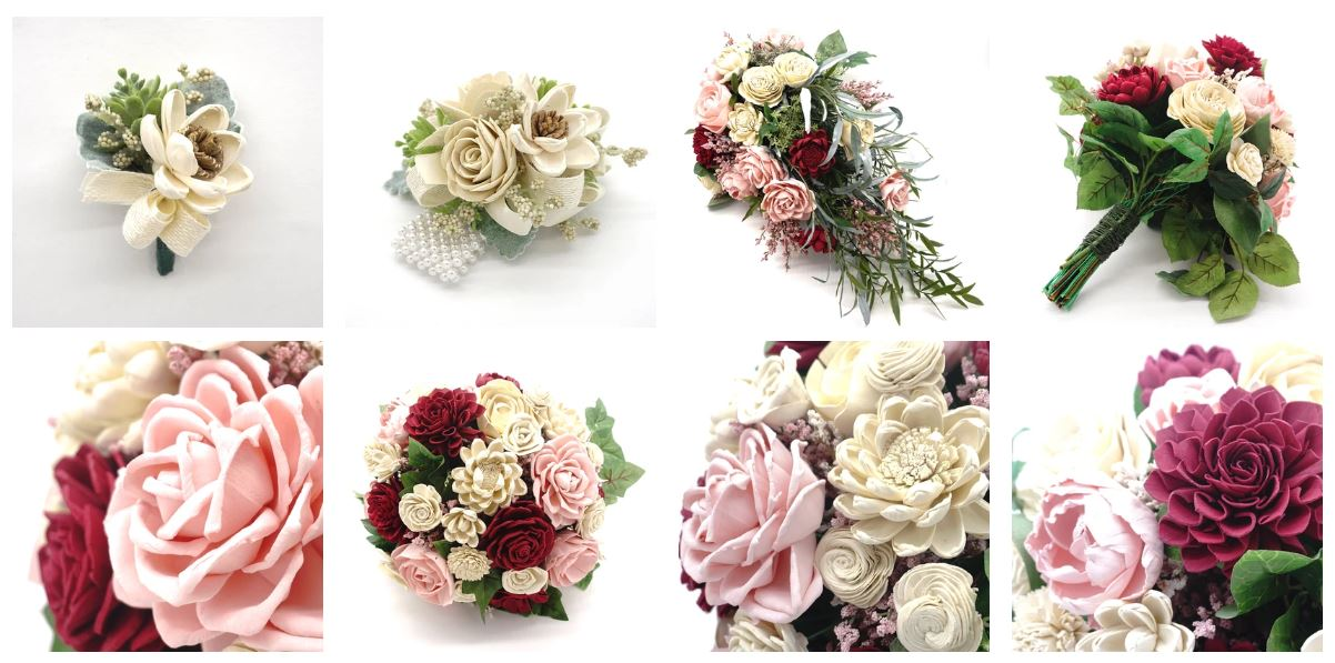Consider Getting Sola Wood Flowers for your Wedding