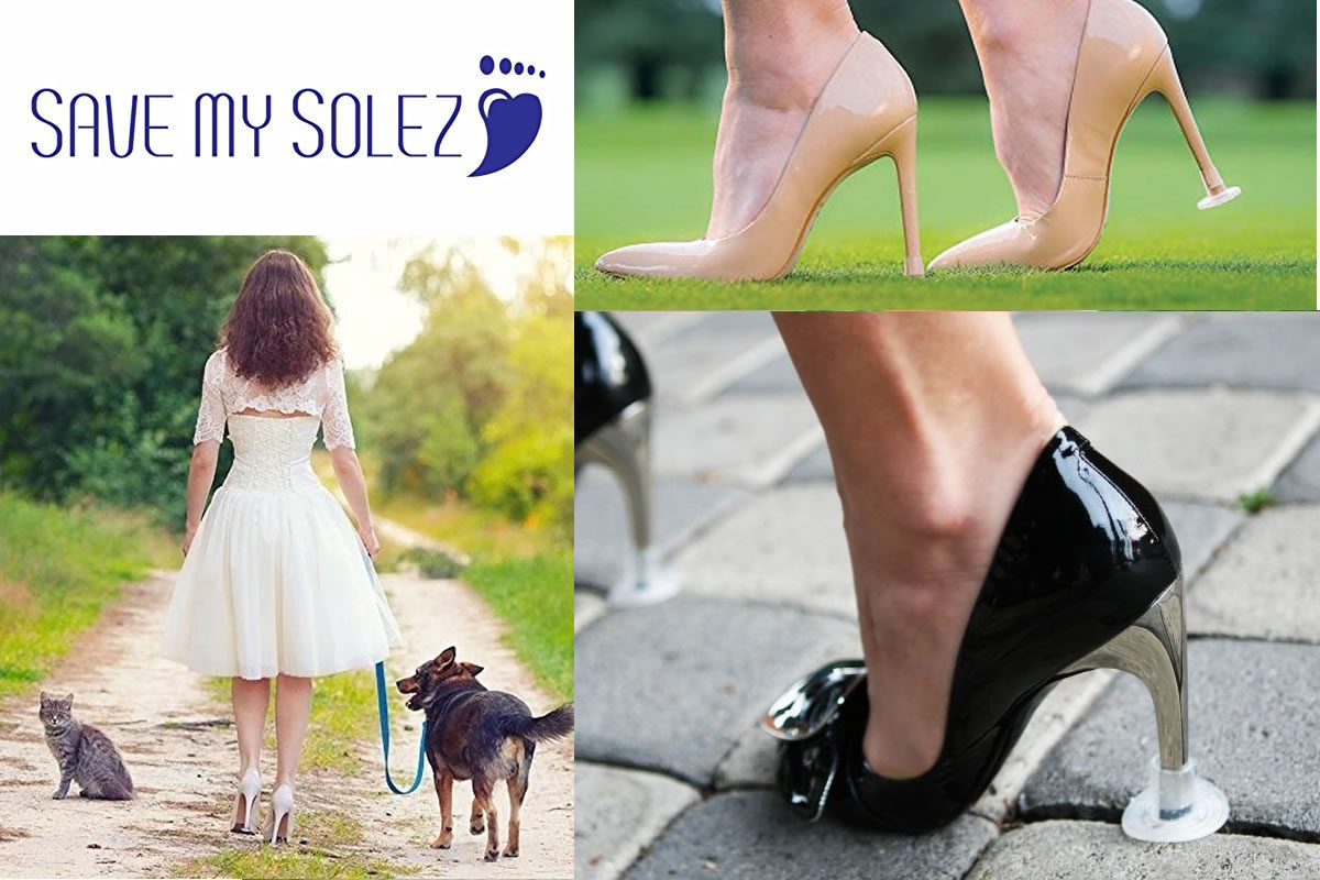 Heel Protectors for Your Wedding