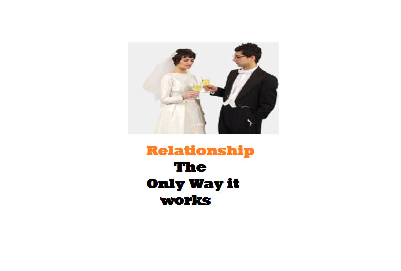 A Great Relationship is The Only Way It Works