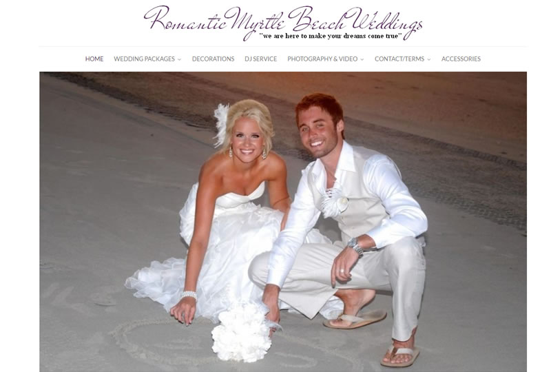 Romantic Myrtle Beach Weddings | Romantic Myrtle Beach Weddings Weddingmb Bridal And Wedding Blog
