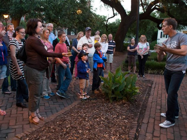 Take Your Wedding Party on One of the Savannah Ghost Tours