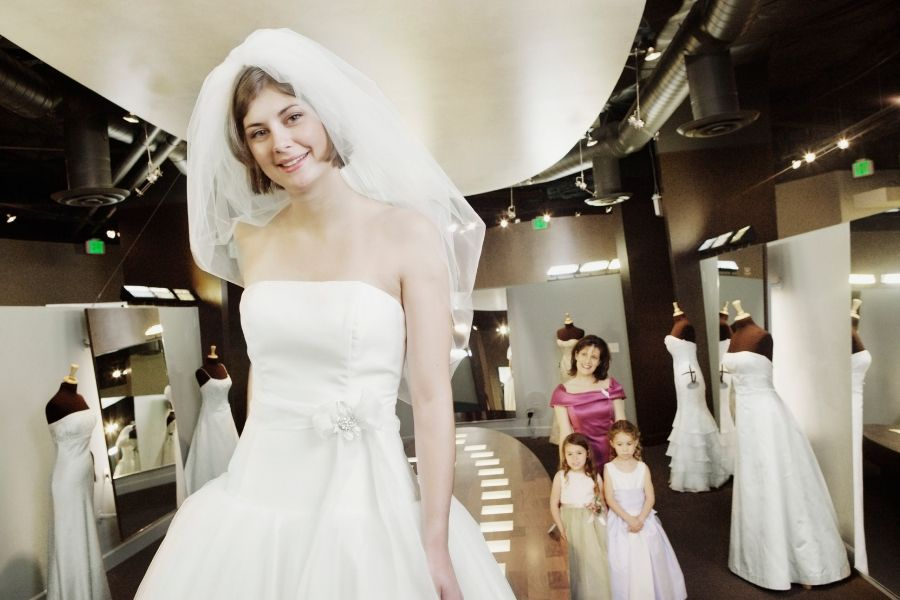 What Does The Average Wedding Dress Alterations Cost?