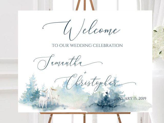 Don't Leave Your Guests Guessing... Get Great Looking Wedding Signs