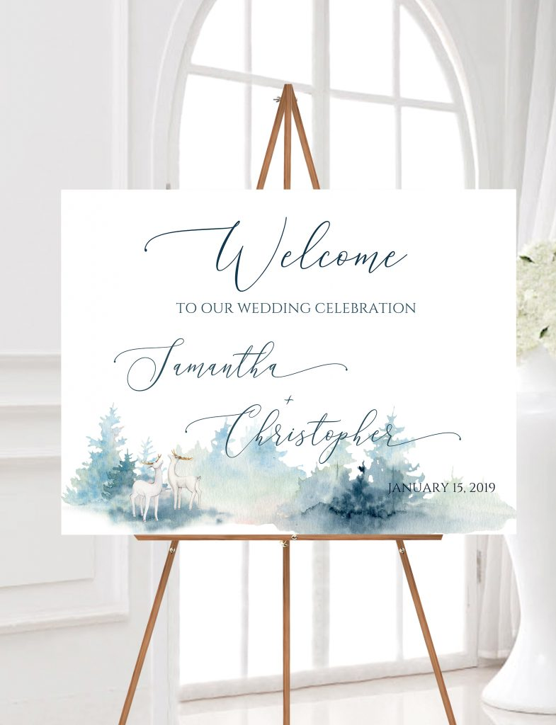 Don't Leave Your Guests Guessing… Get Great Looking Wedding Signs