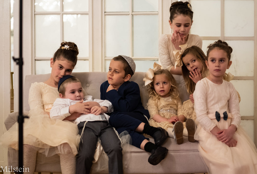 Kids at a New York Wedding